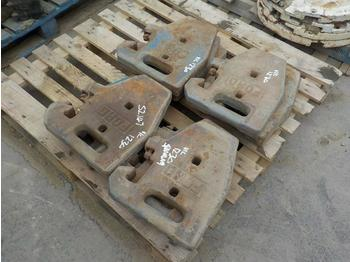 Case Counterweights to suit Tractor (12 of) - counterweight