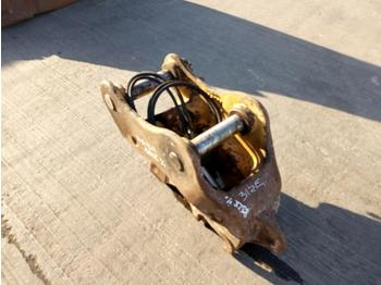 2013 Miller Hydraulic Double Lock QH 65mm Pin to suit 13 Ton Excavator - quick coupler