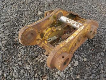 Geith Hydraulic Quick Hitch 80/90mm Pin to suit 30 Ton Excavator - quick coupler