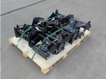 Pallet of Hydraulic Tilting Hitch Brackets - quick coupler