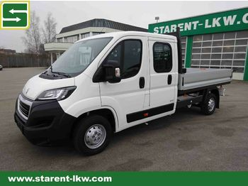 Open body delivery van Peugeot Boxer 35-140, Pritsche DOKA, Klima, Tempomat: picture 1