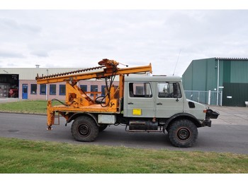 Drilling rig Unimog 1300 L Mobile drill B31