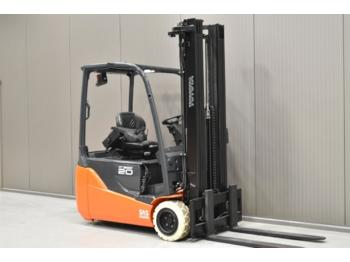 TOYOTA 8FBE20T - 3-wheel front forklift