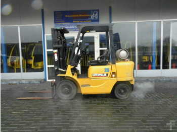 4-wheel front forklift CAT Lift Trucks GP25K