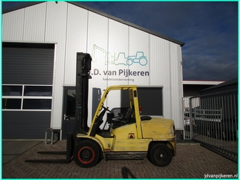 4-wheel front forklift HYSTER H5.00XM 5t Perkins diesel 3x hydrauliek: picture 1