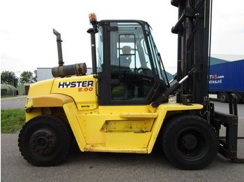 4-wheel front forklift Hyster H8.00XM
