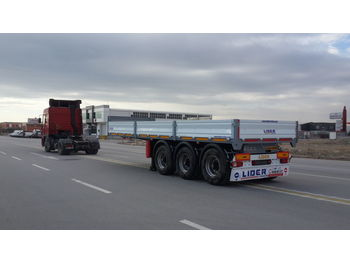 Dropside/ flatbed semi-trailer LIDER 2020 YEAR MODEL NEW TRAILER FOR SALE (MANUFACTURER COMPANY)