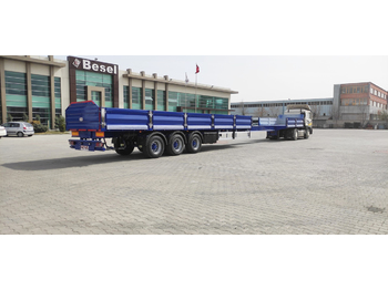 Dropside/ flatbed semi-trailer NOVA NEW EXTENDABLE PLATFORM SEMI TRAILER