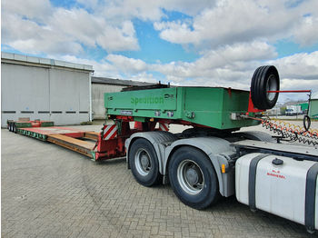 Goldhofer STZ-VL3A Schwanenhals abnehmbar *Extendable  - low loader semi-trailer