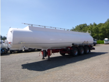 Indox Fuel tank alu 40. 5 m3 / 6 comp - tank semi-trailer
