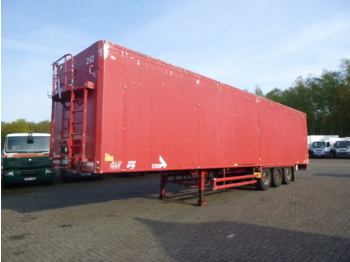 Stas Walking floor trailer alu 90 m3 - walking floor semi-trailer