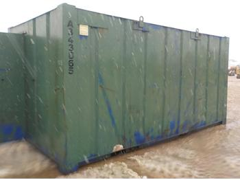 Swap body/ container 16` x 9` Toilets