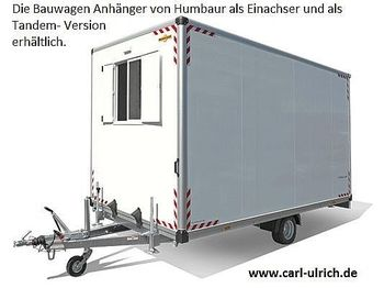 Construction container Humbaur - Bauwagen 204222-24PF30 Tandem