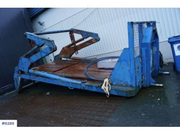 Hook lift/ skip loader system Joab HL18 US LVL Lift dumper hookflake with push out. Rep. object