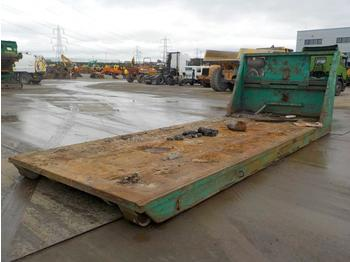 RORO Flat Bed to suit Hook Loader Lorry - roll-off container