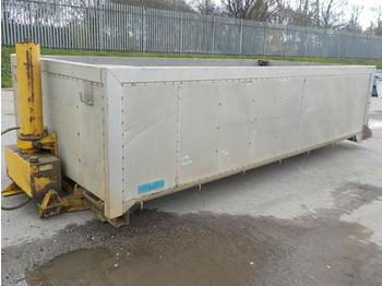 Weightlifter Insulated Alloy Bulk Tipping Body to suit 6x4 Tipper Lorry - tipper body