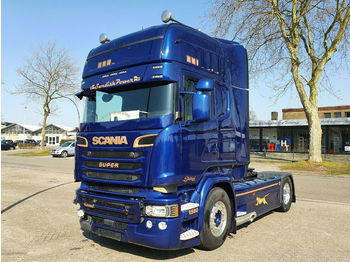 Scania R580 *Full AIR SUSPENSION *Vollspoiler*Alufelgen  - tractor unit