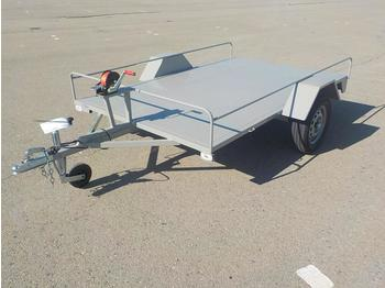 Unused Carruajes Tocina Single Axle Trailer c/w Ramps (Technical Sheet Available / Ficha Técnica Disponible) / Remolque para Diversos Usos con Rampas - car trailer