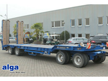 Low loader trailer Goldhofer TU 4-32/80, 4-Achser, 30to Nutzlast, Hydr.Rampen