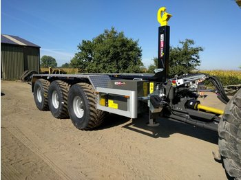 Toplift Staja TS 1862 - roll-off/ skip trailer