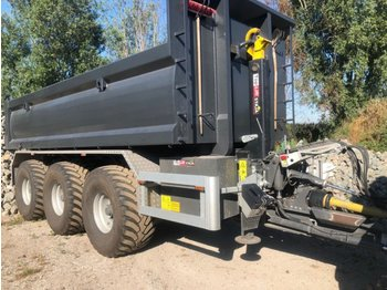 Toplift Staja TS 2667 - roll-off/ skip trailer