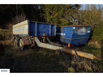 Tipper trailer HMF