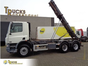 DAF CF 75.310 + Manual + container system + 304119 KM! - cable system truck