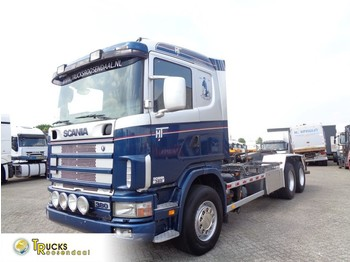 Scania 114G 380 + Manual + Chain system + PTO - cable system truck