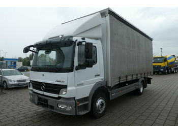 Mercedes-Benz 1224 L + 2 to. LBW  - curtainsider truck