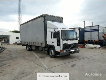 VOLVO FL615 210 left hand drive 15 ton on R22.5 wheels - curtainsider truck