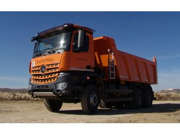 Mercedes-Benz 3342 6X6 Mulden Kipper Euromix ET 18  - tipper
