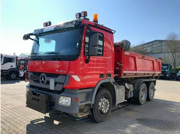 Tipper Mercedes-Benz Actros 2644 6x4 Eur 5 Kipper Bordmatic Winterpl.